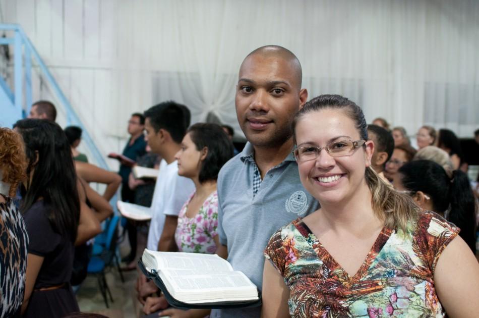 Grazielle aceitou a Jesus na vigília e tem muitos testemunhos para contar