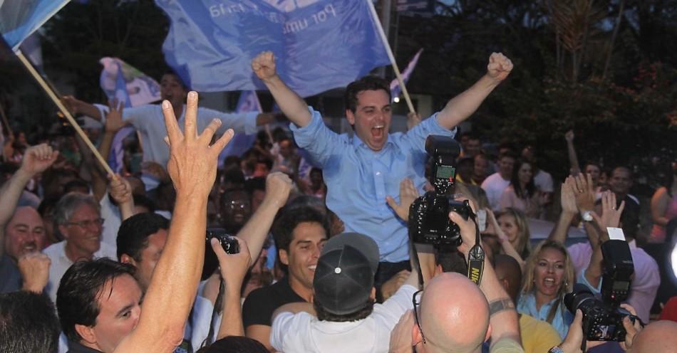 César Souza Júnior, o prefeito eleito de Florianópolis, citou o Bom Samaritano em debates na TV