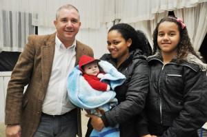 Eduardo é um dos filhos  recuperados. A esposa Rebeca também.