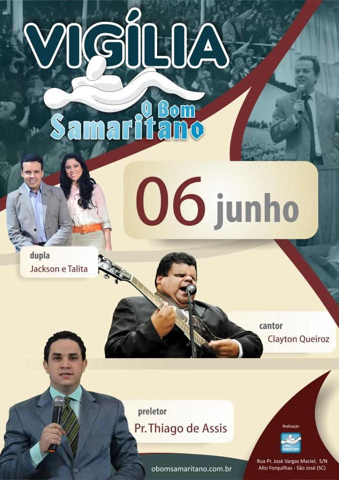 Vigilia Do Bom Samaritano Sera Dia 06 De Junho O Bom Samaritano